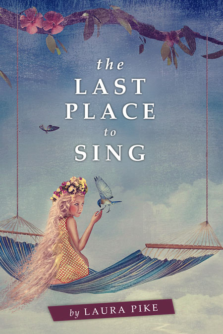 Illustrated Premade Book Covers : The last place to sing illustrated premade book cover