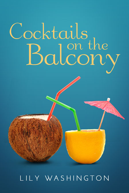 Cocktails on the balcony chik lit romance pre made book for The balcony book