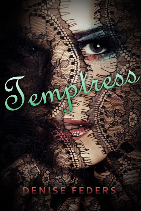 Romance Book Covers For Sale : Temptress romance pre made book cover for sale