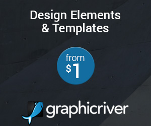 Design Elements & Templates starting from $1. GraphicRiver.