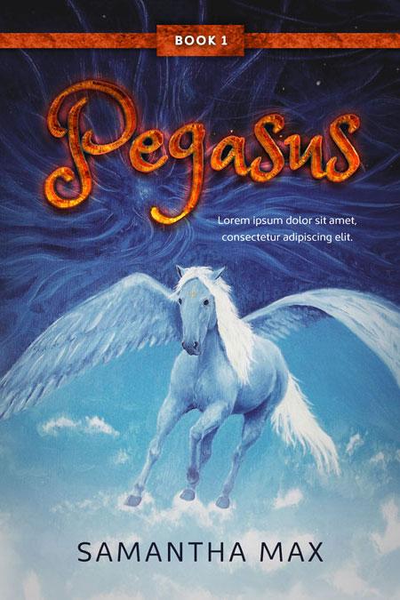 Children S Book Covers For Sale ~ Pegasus middle grade fantasy premade book cover for sale