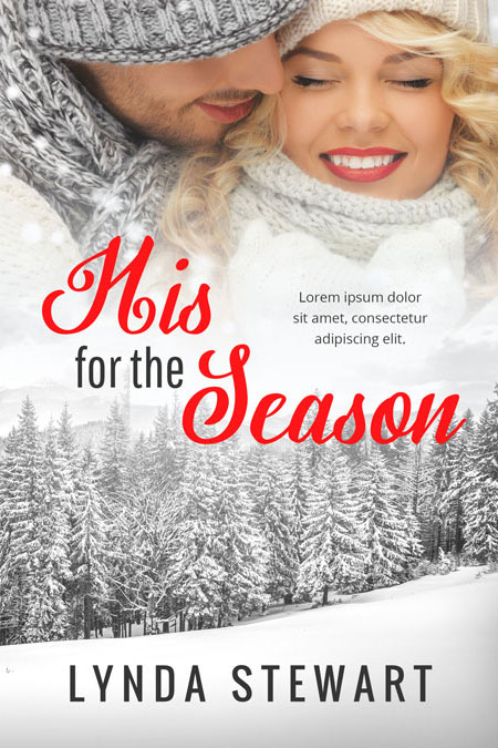 Christmas Romance Book Covers : His for the season christmas romance premade book cover