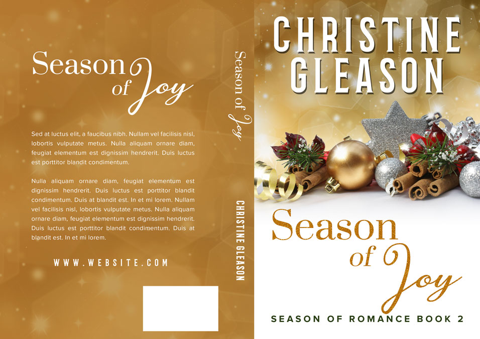 Romance Book Covers For Sale : Season of romance christmas series premade book
