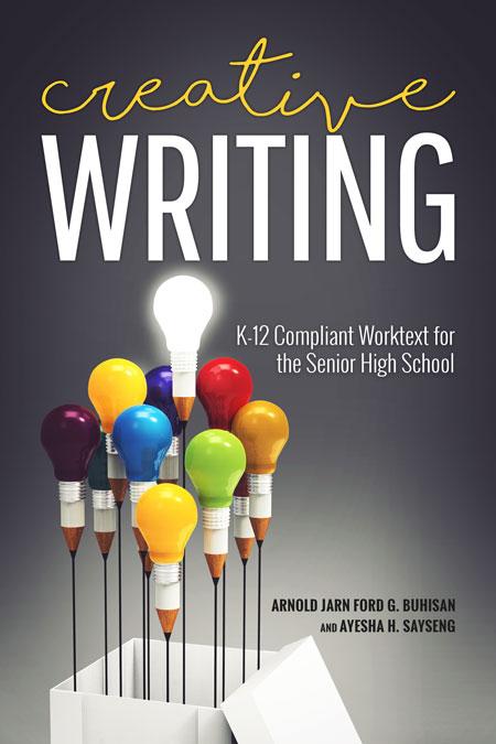 Creative Writing Book Cover : Creative writing by arnold jarn ford g buhisan and ayesha