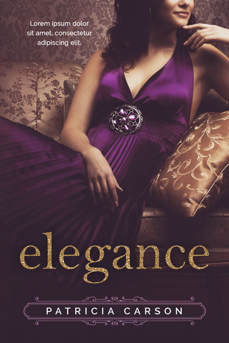 Romance Book Covers For Sale : Elegance romance pre made book cover for sale beetiful