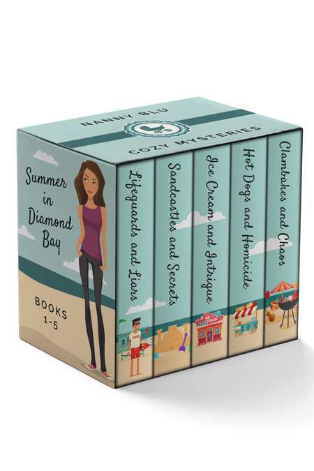 Summer in Diamond Bay Complete Bundle by Maci Grant and Lillianna Blake