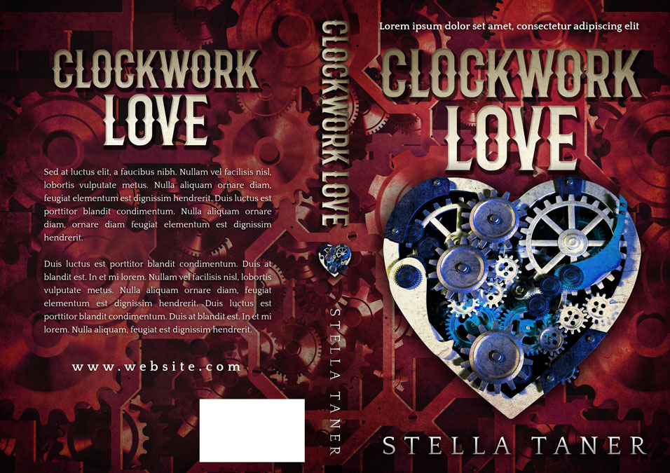Clockwork Love - Steampunk Romance Premade Book Cover For Sale @ Beetiful Book Covers