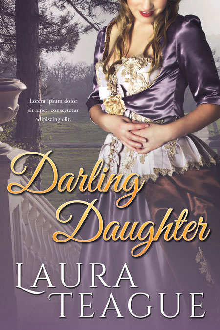 Historical Romance Book Covers ~ Darling daughter historical romance premade book cover