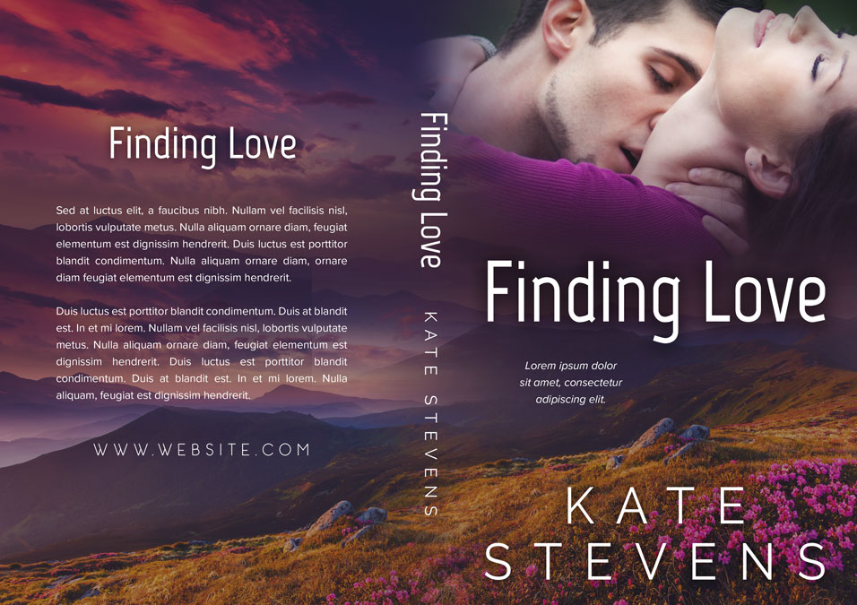 Contemporary Romance Book Covers : Finding love contemporary romance premade book cover for