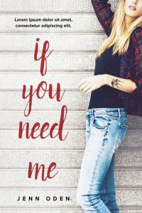 If You Need Me - Chick-lit Premade Book Cover For Sale @ Beetiful Book Covers