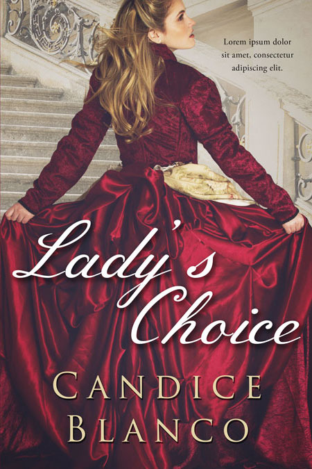 Romance Novel Book Cover Designers : Lady s choice historical romance premade book cover for