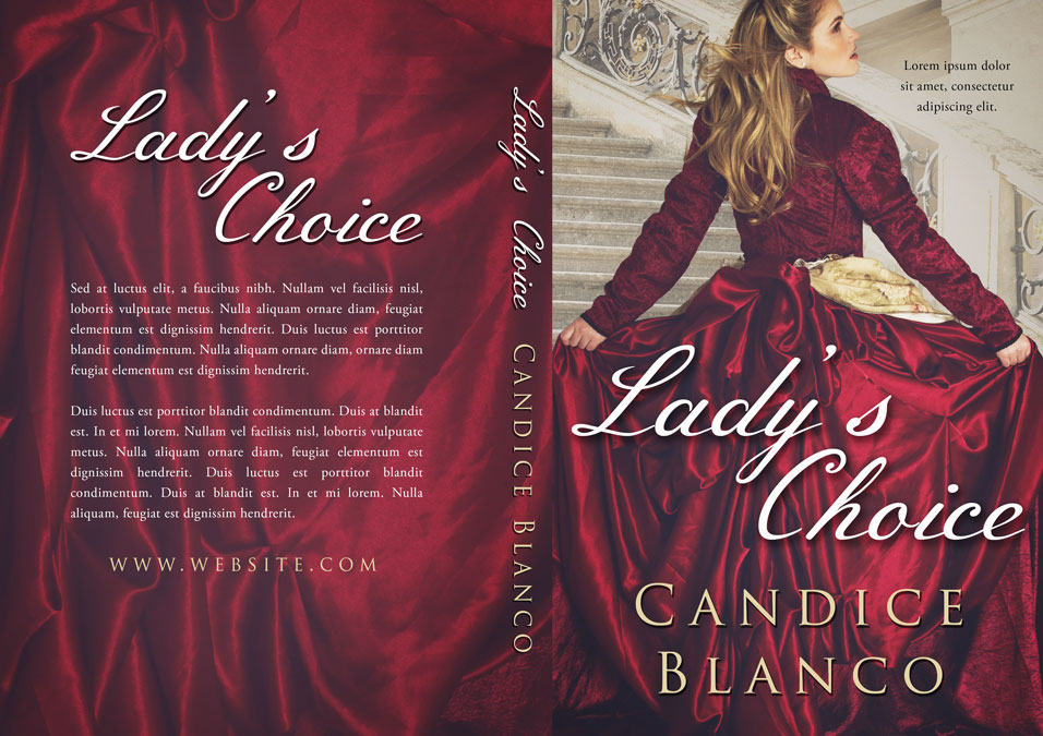 Historical Romance Book Cover : Lady s choice historical romance premade book cover for