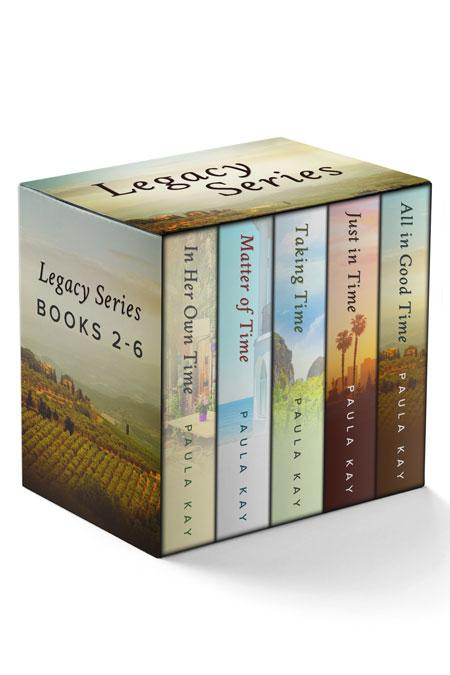 Legacy Series Bundle: Books 2 - 6 by Paula Kay