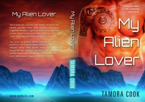 My Alien Lover - Science-fiction Premade Book Cover For Sale @ Beetiful Book Covers