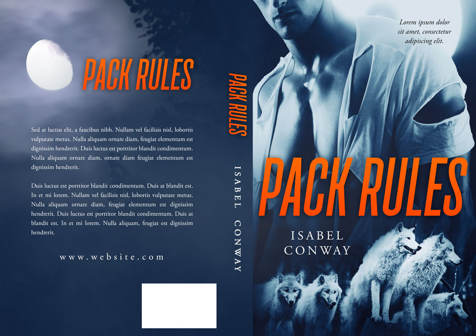 Pack Rules - Paranormal / Werewolf Premade Book Cover For Sale @ Beetiful Book Covers