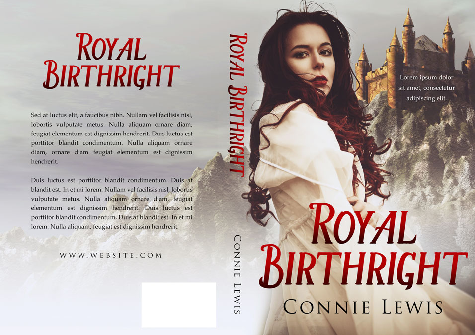 Royal Birthright - Historical Romance Premade Book Cover For Sale @ Beetiful Book Covers