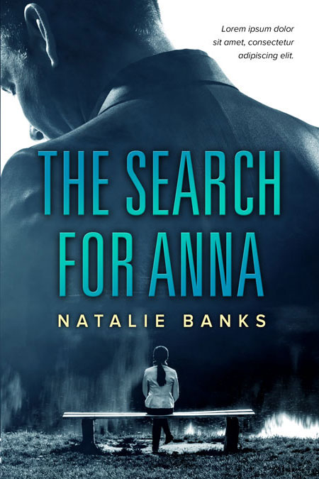 The Search For Anna - Mystery / Thriller Premade Book Cover For Sale @ Beetiful Book Covers