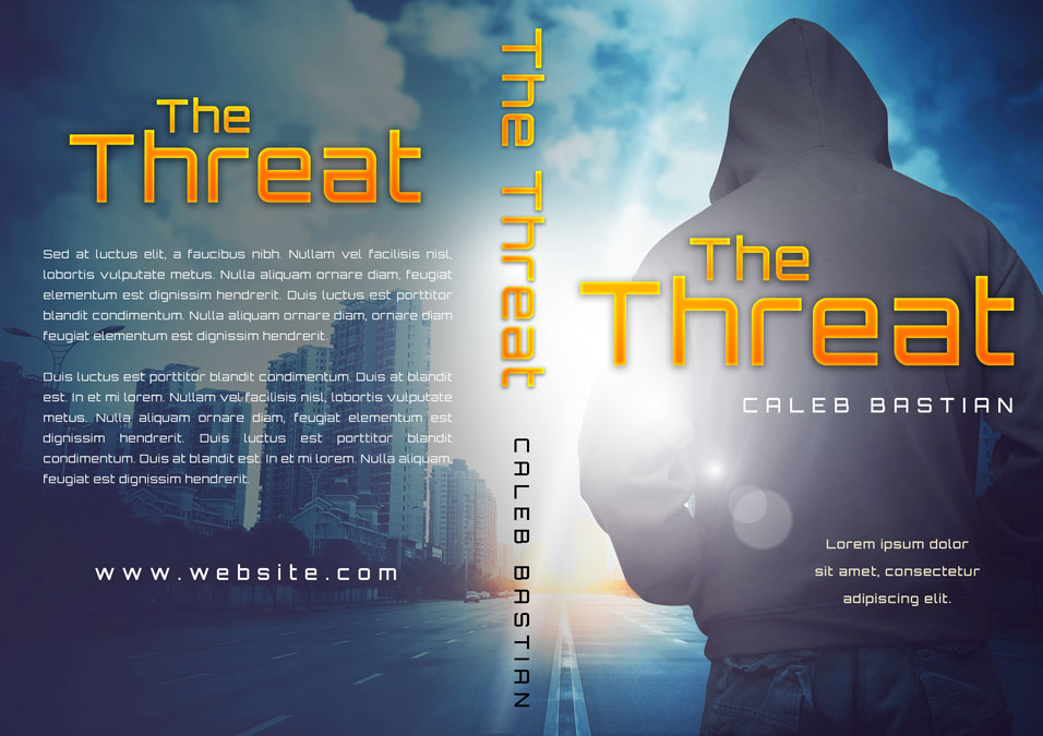The Threat - Mystery / Thriller Premade Book Cover For Sale @ Beetiful Book Covers