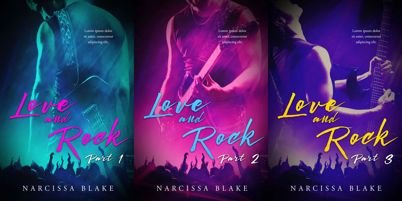 Love and Rock - New Adult Series Premade Book Covers For Sale - Beetiful