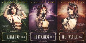 The Inventor Series - Steampunk premade book cover @ Beetiful