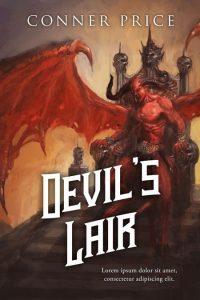 Devil's Lair - Fantasy Premade Book Cover