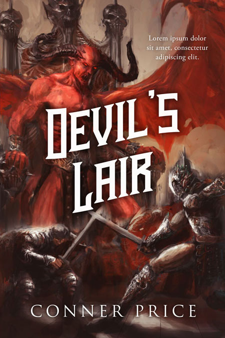 Devil's Lair - Fantasy Premade Book Cover For Sale @ Beetiful Book Covers
