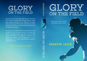 Glory On The Field - Sports Book Cover For Sale @ Beetiful Book Covers
