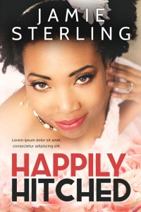 Happily Hitched - African-American Romance Premade Book Cover For Sale @ Beetiful Book Covers