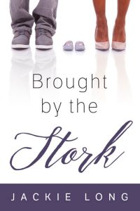 Brought by the Stork - African-American Chick-lit Premade Book Cover For Sale @ Beetiful Book Covers
