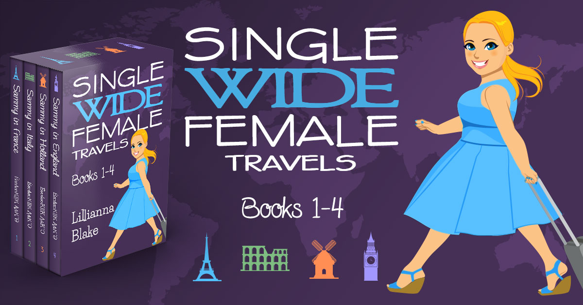 Showcase Spotlight: Single Wide Female Travels Boxset 1-4 by Lillianna Blake