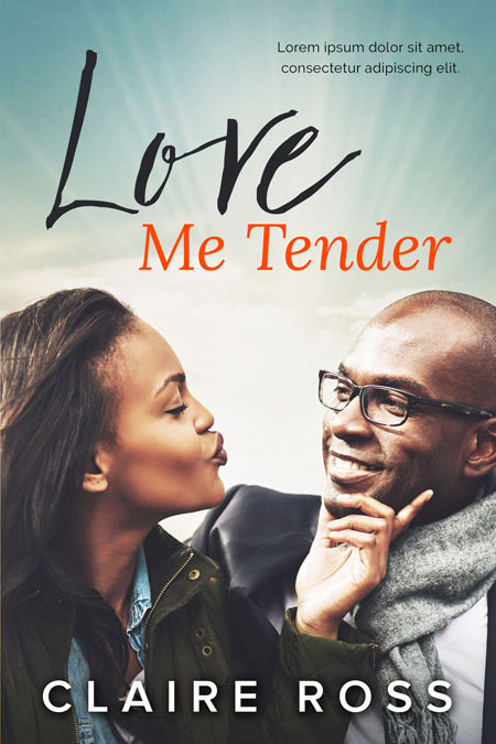 Love Me Tender - African-American Romance Premade Book Cover For Sale @ Beetiful Book Covers