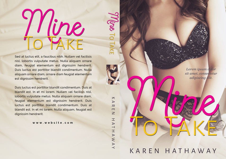 Mine To Take - Erotic Romance Premade Book Cover For Sale @ Beetiful Book Covers