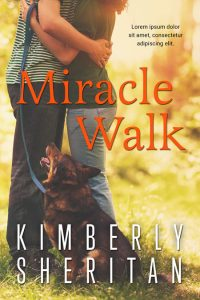 Miracle Walk - Pet Romance Premade Book Cover For Sale @ Beetiful Book Covers