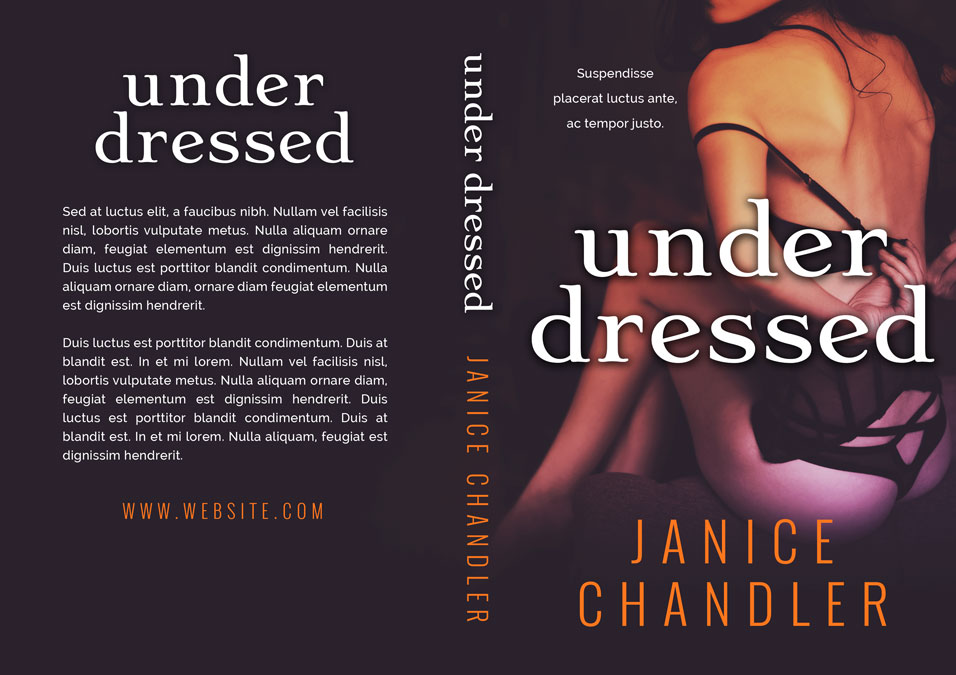 Under Dressed - Erotic Romance Premade Book Cover For Sale @ Beetiful Book Covers