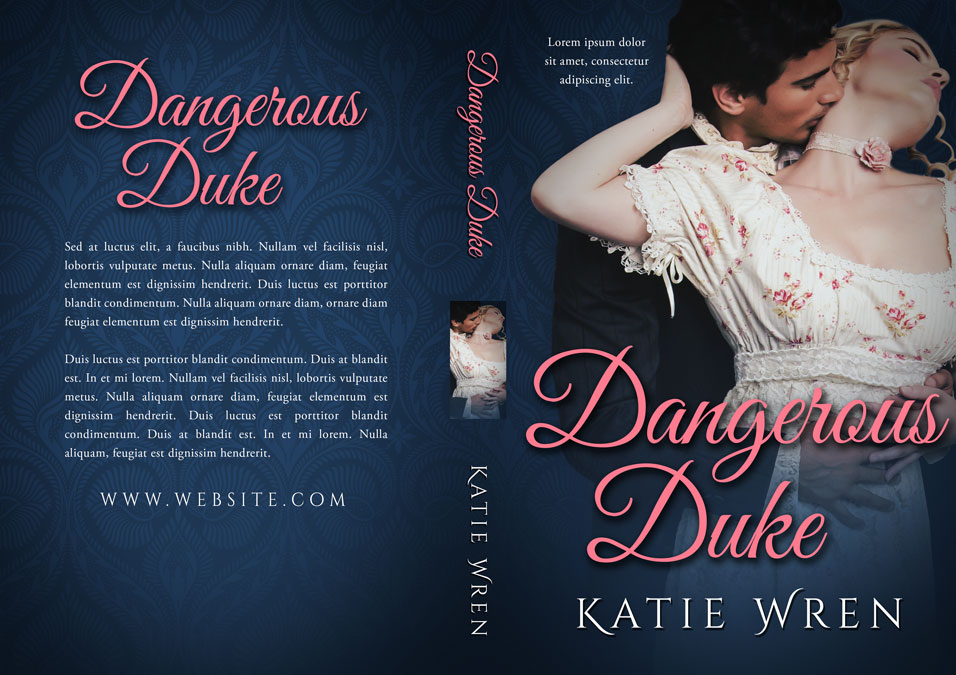 Dangerous Duke - Historical Romance Premade Book Cover For Sale @ Beetiful Book Covers
