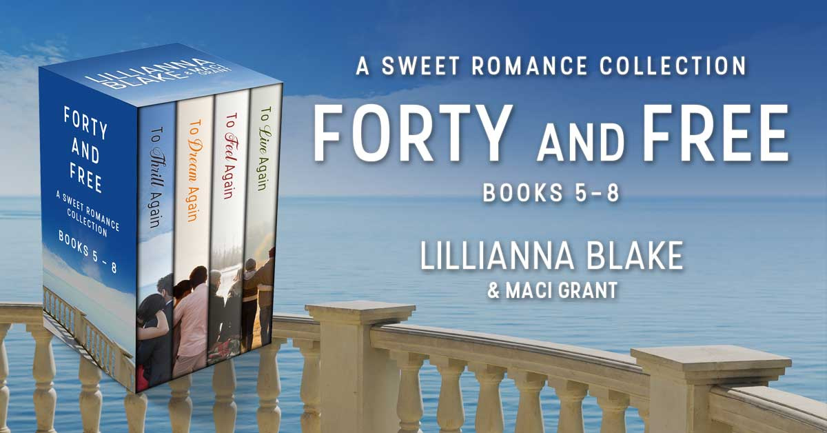 Showcase Spotlight: Forty and Free: A Sweet Romance Series Bundle Books 5 – 8
