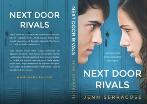 Next Door Rivals - Young Adult / Middle-Grade Premade Book Cover For Sale @ Beetiful Book Covers