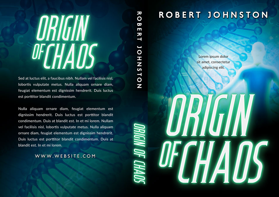 Origin of Chaos - Science-fiction Premade Book Cover For Sale @ Beetiful Book Covers