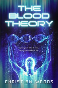 The Blood Theory - Science-fiction Premade Book Cover For Sale @ Beetiful Book Covers