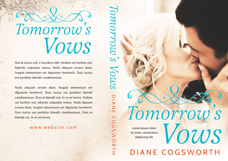 Tomorrow's Vows - Wedding Romance Premade Book Cover For Sale @ Beetiful Book Covers