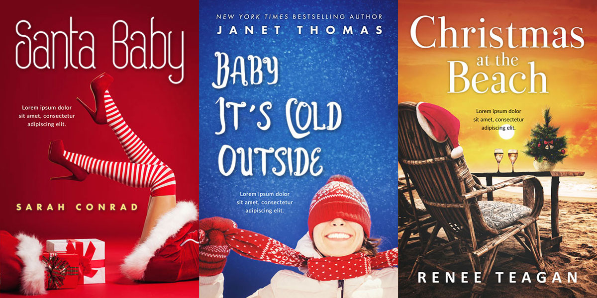 33 New Christmas Premade Book Covers