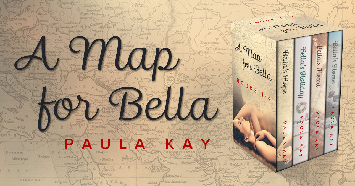 Showcase Spotlight: A Map for Bella: Books 1 – 4 by Paula Kay