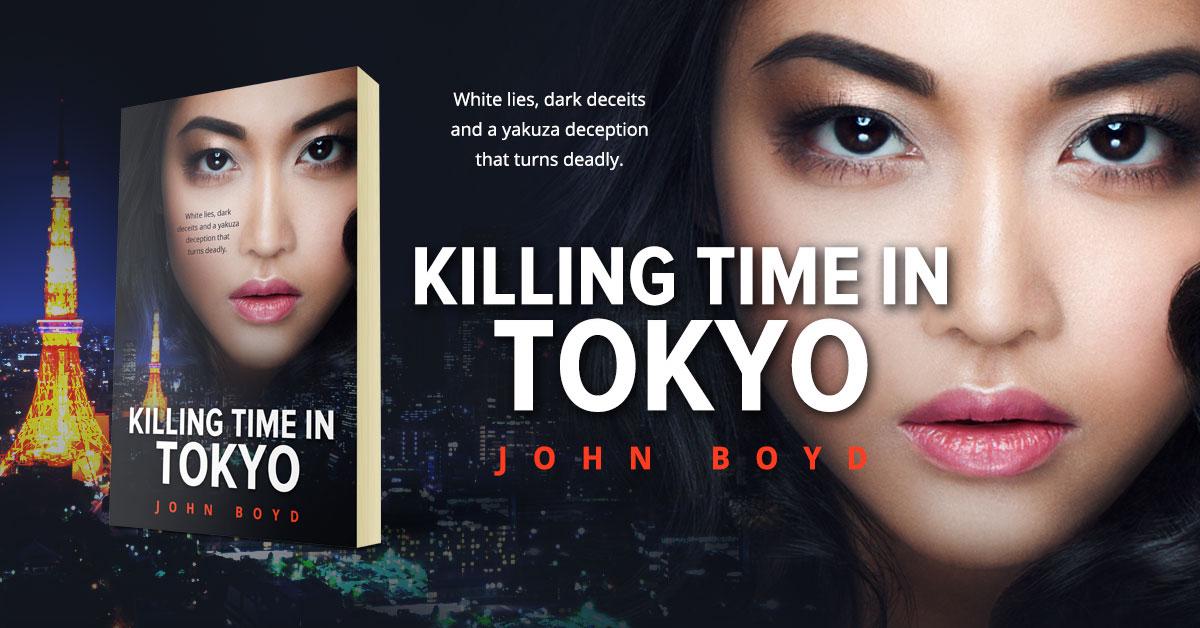 Showcase Spotlight: Killing Time in Tokyo by John Boyd