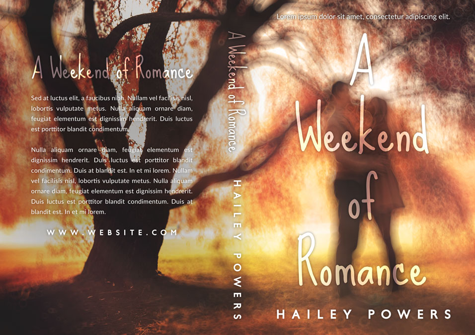 A Weekend of Romance - Young Adult Romance Premade Book Cover For Sale @ Beetiful Book Covers