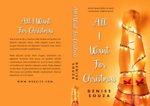 All I Want For Christmas - Christmas Romance Premade Book Cover For Sale @ Beetiful Book Covers