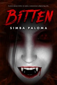 Bitten - Horror / Vampire Premade Book Cover For Sale @ Beetiful Book Covers