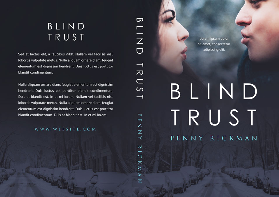Blind Trust - Romance Premade Book Cover For Sale @ Beetiful Book Covers