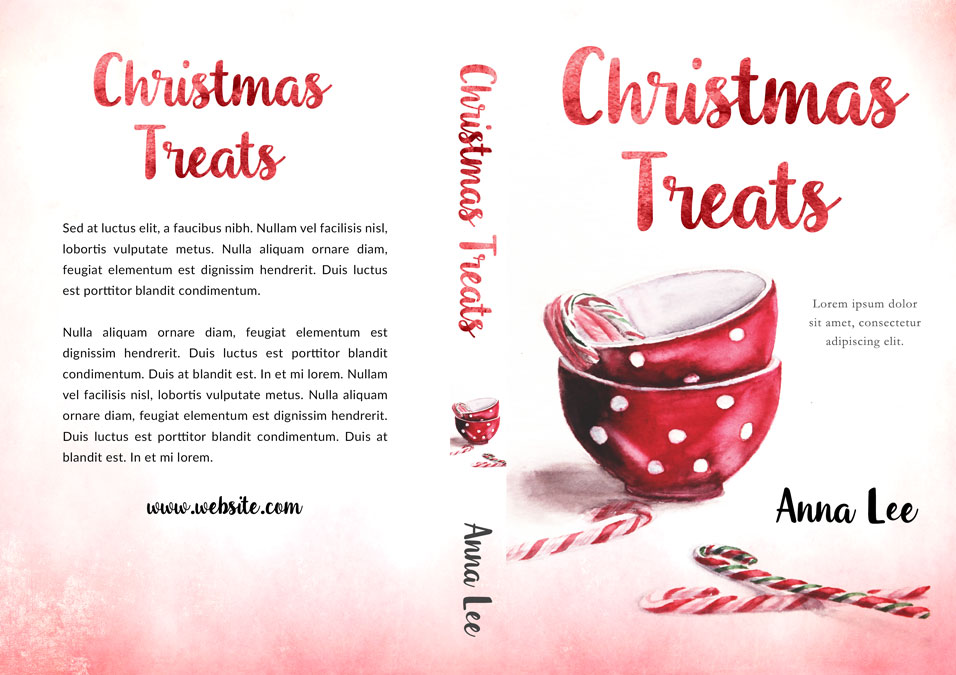 Christmas Treats - Christmas Fiction Premade Book Cover For Sale @ Beetiful Book Covers