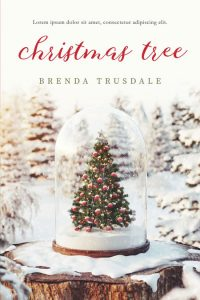 Christmas Tree - Christmas Premade Book Cover For Sale @ Beetiful Book Covers