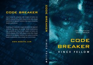 Code Breaker - African American Science Fiction / Techno Thriller Premade Book Cover For Sale @ Beetiful Book Covers